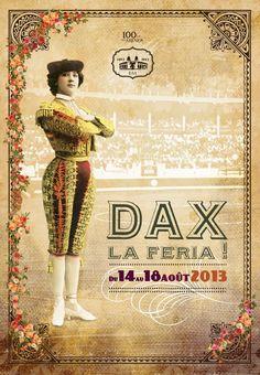 L'affiche de la Feria 2013 | Dax, la Feria !