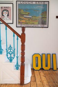 Home Tour: Tiny & The House - The Frugality Hallway Decorating, Interior Decorating, Interior Design, Decorating Ideas, The Frugality, Interior Stairs, Big Houses, Interior Inspiration, Interior Ideas