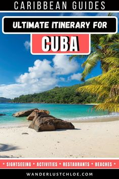 From visiting the colourful capital of Havana, to relaxing on Varadero's pristine beaches, and exploring quirky Trinidad, this Cuba itinerary is the perfect introduction to the country. Cuba Travel, Beach Travel, Beach Trip, Cuba Destinations, Cuba Itinerary, Cuba Beaches, Visit Cuba, Varadero, Beautiful Beaches