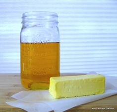 Making-Ghee is an easy process that results in pure butter oil. It tastes wonderful on and in everything! | low carb, Palaeo, Keto |