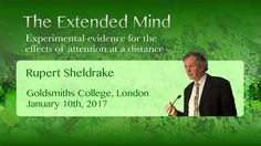 January 10th, 2017 Goldsmiths, University of London A lecture by Rupert Sheldrake http://sheldrake.org Given at the Anomalistic Psychology Research Unit, in ...