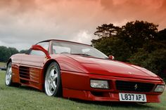 Ferrari 348, Red Heads, Vintage Racing, Manual Transmission, Cars Motorcycles, My Dream, Super Cars, Spider, Porsche
