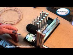 ▶ Bracelet Tutorial using the Jump Ring Maker by Pepe - YouTube