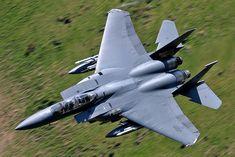 91-0312\LN F-15E 48th FW, 492nd FS 'Bolars' RAF Lakenheath | par Stuart Freer - Touchdown Aviation