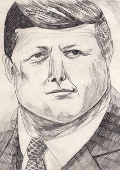 Portraits - maria herreros- JFK