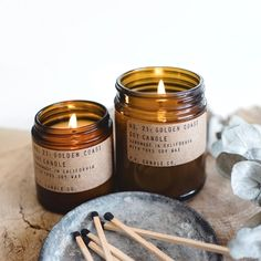 Inspired by California beaches, the @pfcandleco Golden Coast Candle aims to capture that breezy ocean scent that the West Coast is known for. #pfcandleco #sportique #sportiquesf #discovercuration