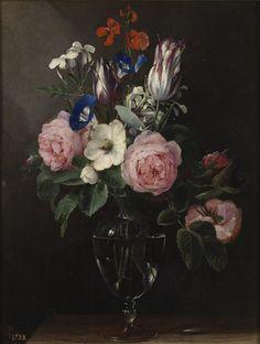 """laclefdescoeurs: """"Vase of Flowers, 1600-25, Jan Brueghel the Elder """""""