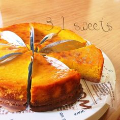 I want to keep it secret ✧ Sweet Potato & Pumpkin Tart ✧ Making Sweets, Easy Sweets, Homemade Sweets, Sweets Recipes, Cooking Recipes, Cake Recipes, Asian Desserts, Cute Desserts, Delicious Desserts