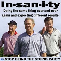 Say NO to another Bush for POTUS!!!
