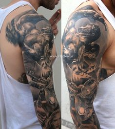 marvel tattoo 2 copia 3 by deniseruhrmann Marvel Tattoo Sleeve, Avengers Tattoo, Marvel Tattoos, Sleeve Tattoos, Hulk Tattoo, Dc Tattoo, Comic Tattoo, Trendy Tattoos, New Tattoos