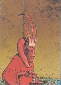 Trading cards - Moebius (collector cards) - Bartiniflor