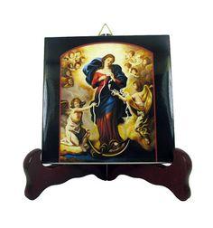 Guarda questo articolo nel mio negozio Etsy https://www.etsy.com/it/listing/529369738/catholic-gifts-virgin-mary-undoer-of
