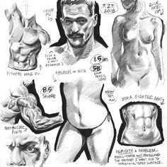 Kicked off the morning shift—or, less charitably, wasted a big chunk of the all-important morning shift—with a set of sketches from random… Figure Drawing Tutorial, Figure Drawing Models, Human Figure Drawing, Figure Sketching, Figure Drawing Reference, Anatomy Reference, Drawing Tutorials, Pose Reference, Anatomy Sketches
