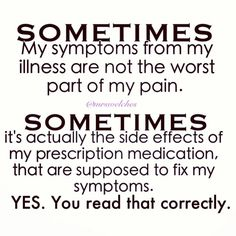 Why is it EVERY migraine medication has headache listed as a side effect. Aren't we trying to fix that? #chronicillness #silentillness #spoonie