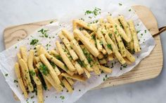 Crispy Chickpea Fries [Vegan]   One Green Planet