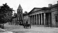 Old photograph of the Court House on Tay Street in Perth, Perthshire, Scotland Old Photographs, Old Photos, Perth Scotland, Tile Ideas, Historical Photos, Past, Ireland, Buildings, Times
