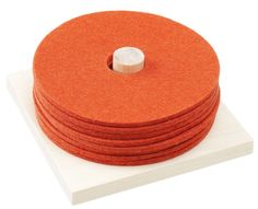 Ring-coasters rose hip, 8 pcs + a wooden board, Hot Pads, Wool Felt, Coasters, Wood, Ring, Design, Rings, Woodwind Instrument, Coaster