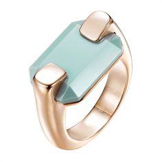 Ring Damen Joop roségold mit türkisem Stein JPRG00026C https://www.thejewellershop.com/ #ringe #joop #glasstein #türkis #ring #rosé #schmuck #jewelry
