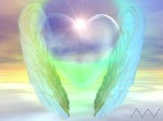 Angel heart! Love Psychic, I Believe In Angels, Archangel Raphael, A Course In Miracles, Doreen Virtue, Angels Among Us, Angel Pictures, Heart Pictures, Angels In Heaven