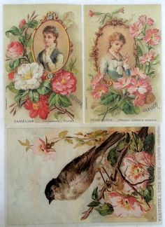 Rice Decoupage Paper / Decoupage Sheets / Scrapbooking / JANVIER / Vintage