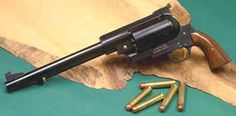 Pfeifer Zeliska - Largest Caliber Handgun - 15.7mmThe .600 Nitro Express Zeliska revolver is an Austrian single-action revolver produced by Pfeifer firearms. the Zeliska may be the largest handgun in the world, weighing in at 6.001 kilograms and having a length of 55 centimetres. The cylinder section alone weighs 2.041 kilograms. The Zeliska is also one of the most powerful handguns in the world, producing a muzzle energy of 7,591 foot pounds. The weight of the gun helps control the recoil…