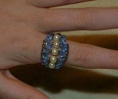 Featured Project: Easy Cross Weave Ring