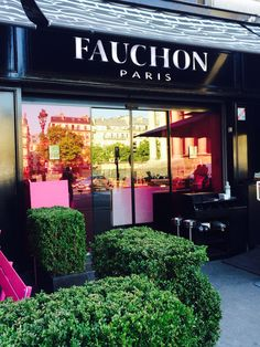 Fauchon Paris. Oh somewhere I have their recipe for flourless chocolate cake!--CH