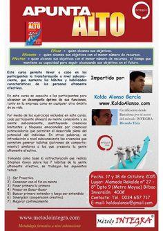 en Octubre por primera vez en Bilbao Apunta Alto Desarrollo de los 7 Hábitos