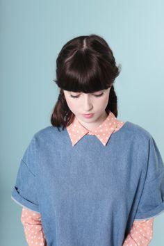 Denim T-Shirt Dress http://www.thewhitepepper.com/collections/dresses/products/denim-t-shirt-dress