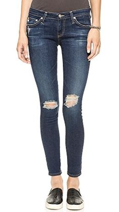 AG Women's The Legging Ankle Jeans, 4 Year Fog, 28 ** You can find more details by visiting the image link.