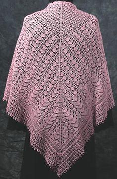 free knit shawl patterns   Free Shawl Knitting Patterns   Knitted Shawl…