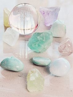crystals, from Stephanie Ryan's blog