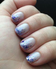 Smashley Sparkles: My Wedding Nails!