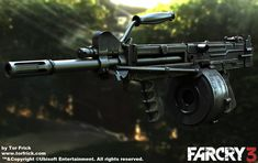 ArtStation - Far Cry 3 weapons, Tor Frick