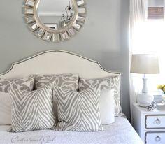 kates master bedroom custom color