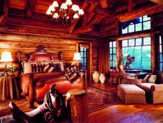 Log homes.My dream home.