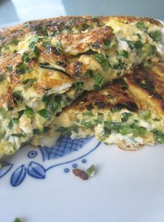 Garlic Chive Pancakes & Omelettes!