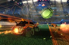 Car To Ball Rocket League - If we were to draw up a list of Rock, Paper, Shotgun's collective interests, rocketcars and pretending we don't understand football would both rank highly. So: Nyooooooooom!