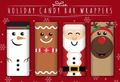 Snowmen Candy Bars:Homemade Christmas Gifts - The Happy Housewife™ :: Home Management For a quick and easy last minute gift that everyone likes, turn a chocolate bar into a cute snowman, Santa, or reindeer with a candy bar wrapper template. Christmas Chocolate Bar Wrappers, Christmas Wrapper, Christmas Candy Gifts, Last Minute Christmas Gifts, Holiday Candy, Homemade Christmas Gifts, Kids Christmas, Christmas Crafts, Vintage Christmas