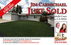 Great El Cajon Home, Happy Clients!! Call us 619-670-6663 Carmichael Homes for ALL of your Real Estate needs.