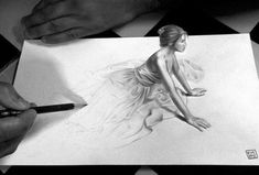 3d pencil drawings tutorial - Google Search