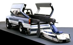 #Toyota displayed the Mobile Base, a #Hilux Surf-based concept for outdoor adventurers, at the 1987 #TokyoMotorShow.