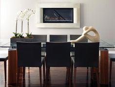 Inspiration déco: Table de salle à manger   Chez Soi © Photo: Yves Lefebvre #deco #salleamanger #table
