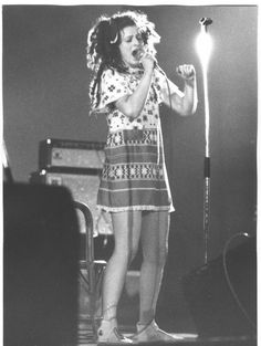 Ari Up The Slits at Punto Club in Vignola, Italy, February 1980. Photo by Natale Nitti