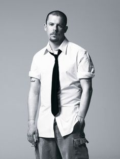 Lee Alexander McQueen. RIP...you are an ongoing artistic inspiration to many, myself included.