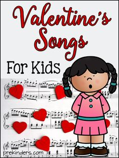 Valentine's Day video songs for Preschool to Kindergarten kids! Music and movement songs by popular children's music artists.