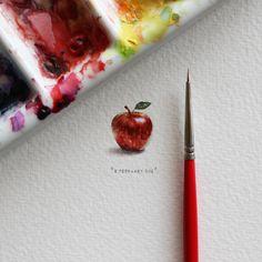 '365 postcards for ants', las pinturas de Lorraine Loots | yosfot