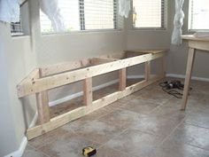 It's the little things that make a house a home...: DIY: Window Seat With Hidden Storage...