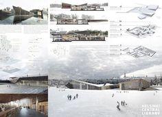 Imagem 2 de 4 da galeria de Vencedores da 3ª Edição dos Prêmios IS ARCH para estudantes. Helsinki Central Library . Cortesia de IS ARCH