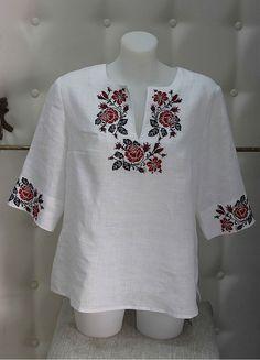 Вышиванка женская «Роза-лилия» БЛ-078021